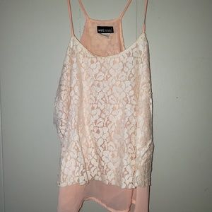 Wet Seal lace tank top